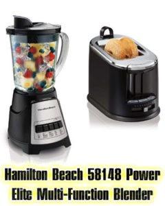 Hamilton Beach 58148 Power Elite Multi Function Blender